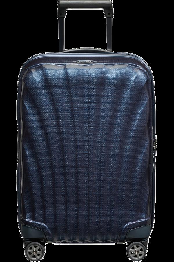 Samsonite C-Lite Spinner Expandable 55cm  Midnatsblå