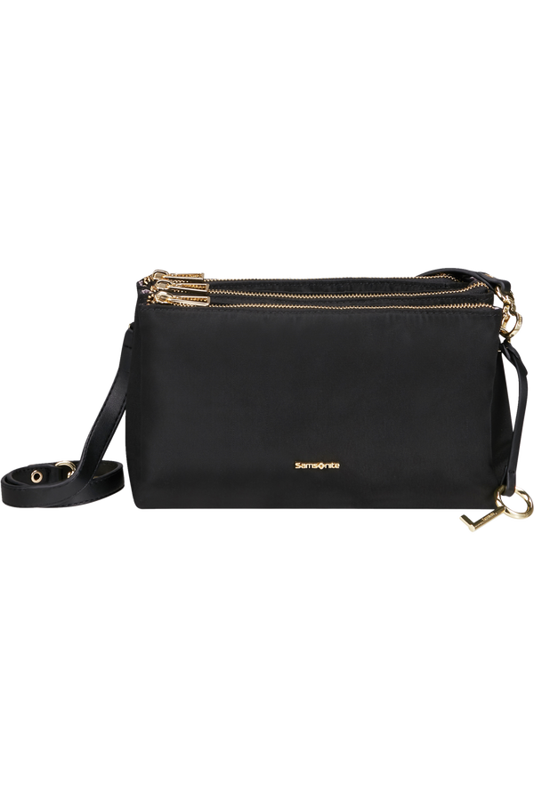Samsonite Skyler Pro Horizontal Shoulder Bag 3 Comp S  Sort