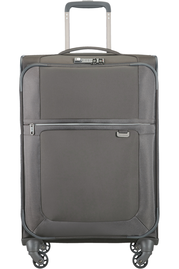 Samsonite Uplite Spinner Expandable 67cm Grå