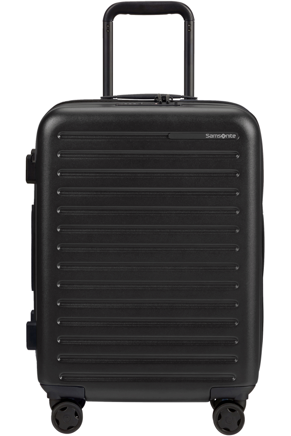 Samsonite Stackd Spinner Expandable 55cm  Sort