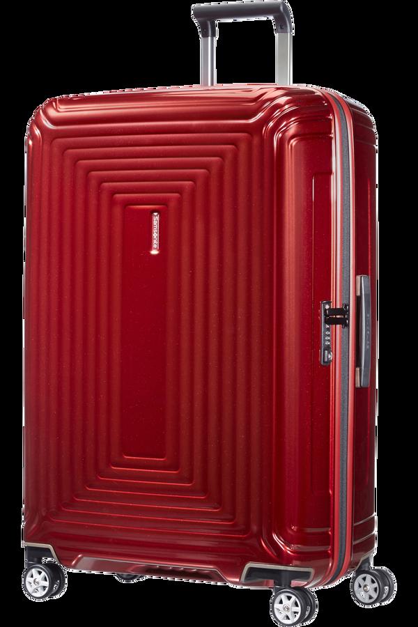 Samsonite Neopulse Spinner 75cm Metallisk rød