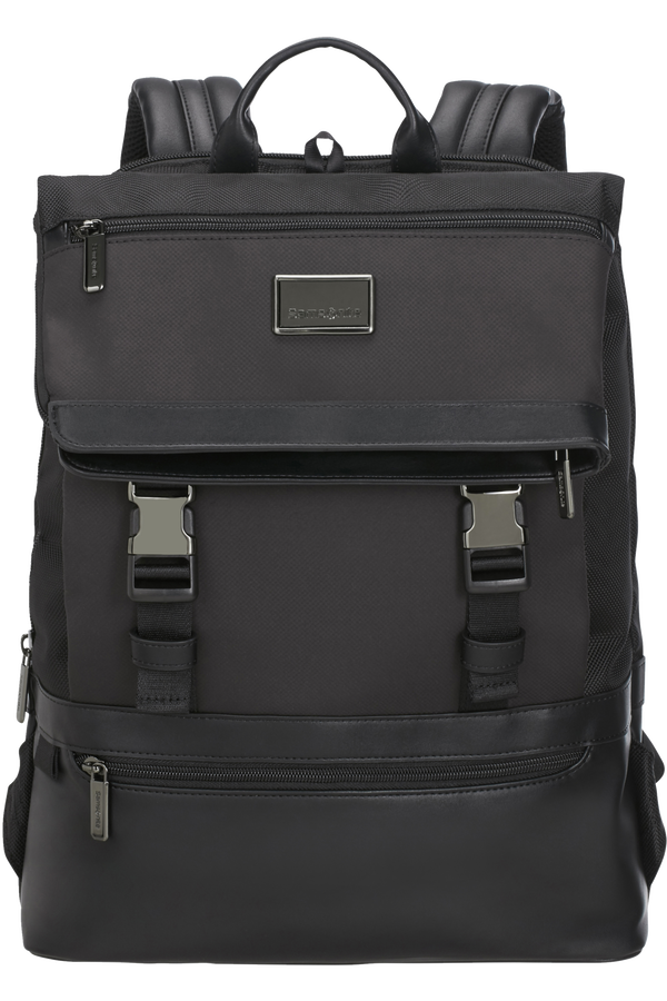 Samsonite Waymore Laptop Backpack Flap Slim  15.6inch Sort