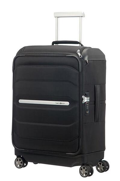 Flux Soft Kuffert med 4 hjul & toplomme 55cm