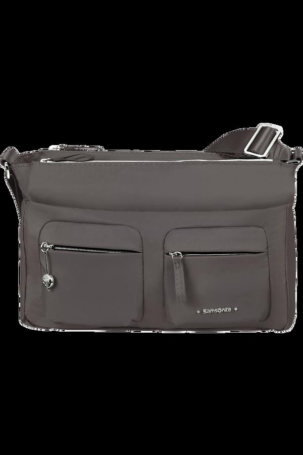 Samsonite Move 3.0 Horizontal Shoulder Bag + Flap  Mørkegrå