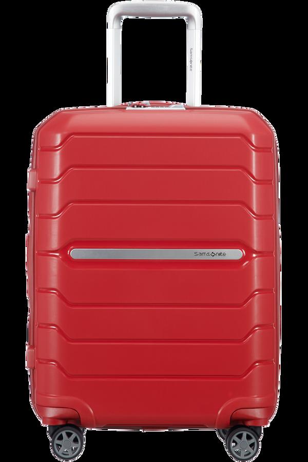 Samsonite Flux Spinner Expandable 55cm  Rød
