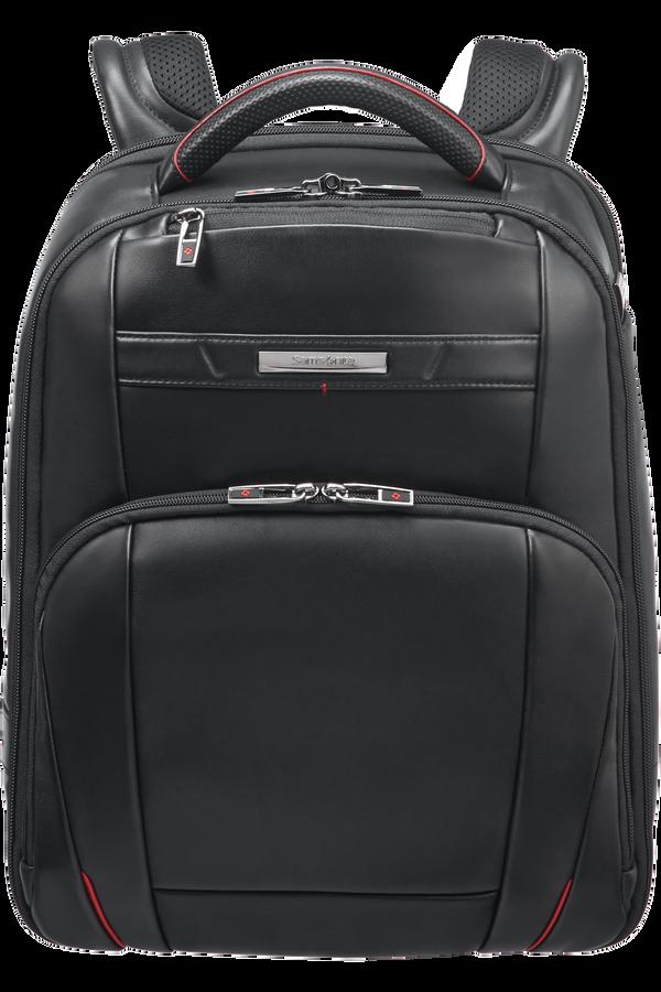 Samsonite Pro-Dlx 5 Lth Laptop Backpack  14.1inch Sort