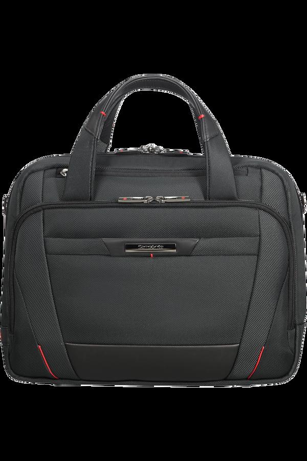 Samsonite Pro-Dlx 5 Laptop Bailhandle  35.8cm/14.1inch Sort