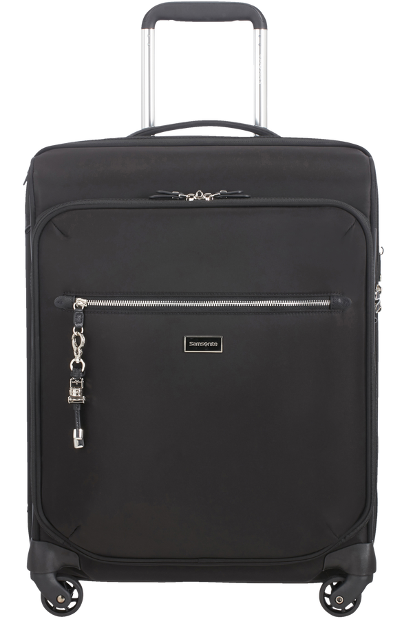Samsonite Karissa Biz Spinner Expandable 55cm  Sort