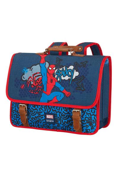 Marvel Stylies Skoletaske M Spiderman Pop
