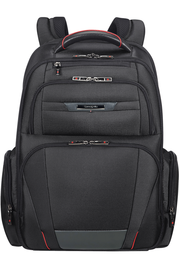 Samsonite Pro-Dlx 5 Laptop Backpack 3V Expandable  43.9cm/17.3inch Sort