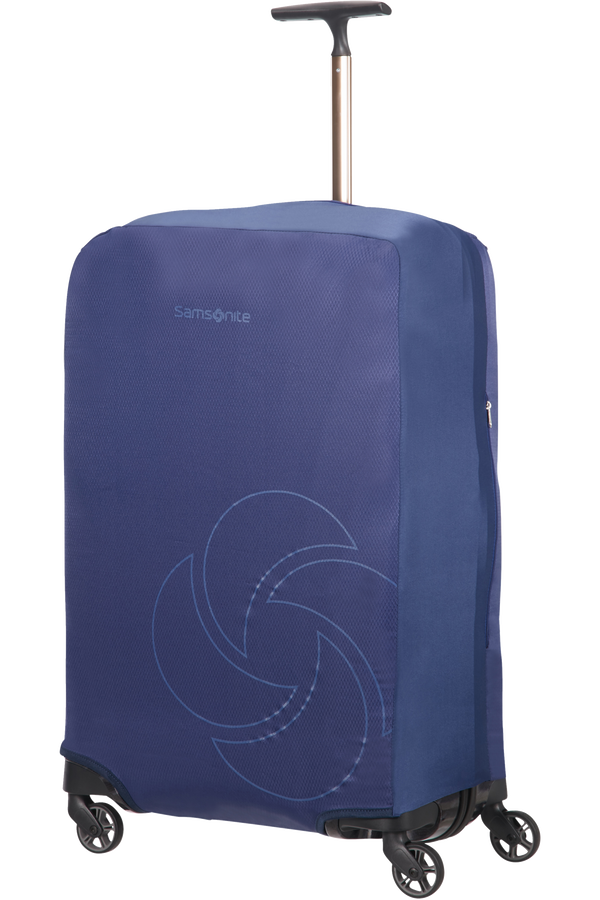 Samsonite Global Ta Foldable Luggage Cover M/L Midnatsblå