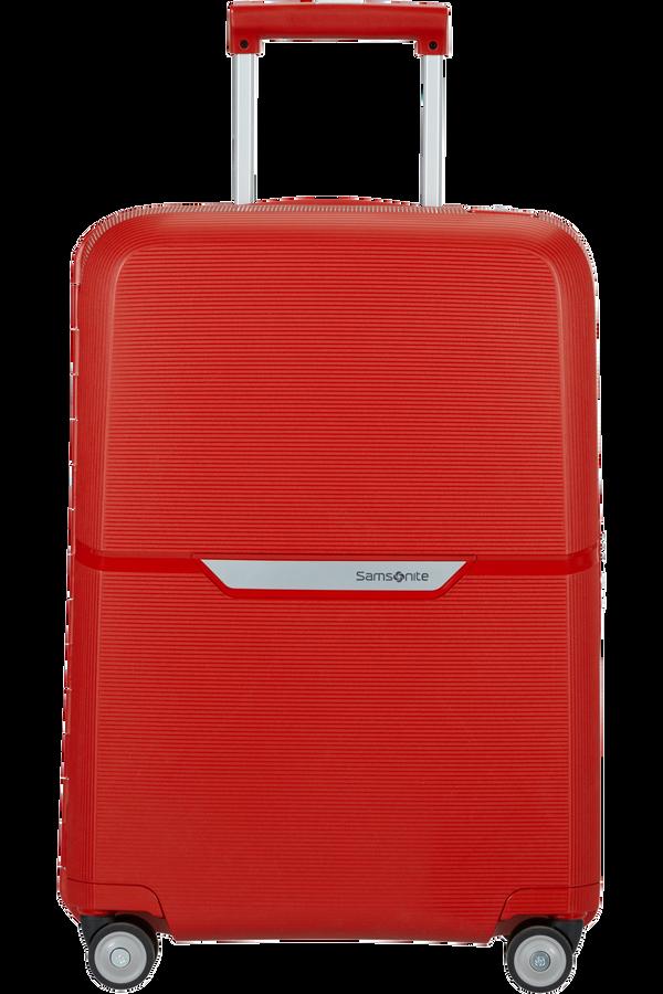 Samsonite Magnum Spinner 55cm  Klar rød