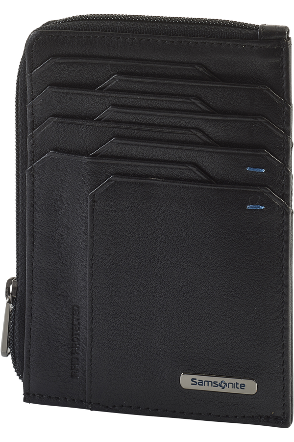 Samsonite Spectrolite Slg All In One Wallet Zip  Black/Night Blue