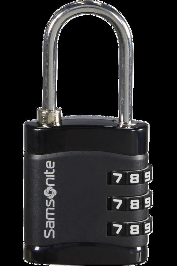 Samsonite Global Ta Combilock 3 dial light Sort