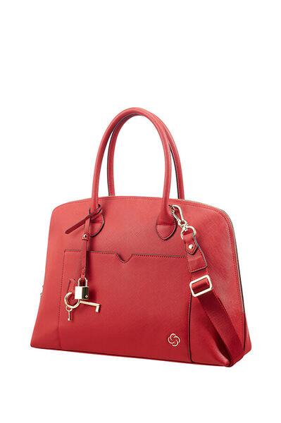 Miss Journey Bostontaske Cherry Red