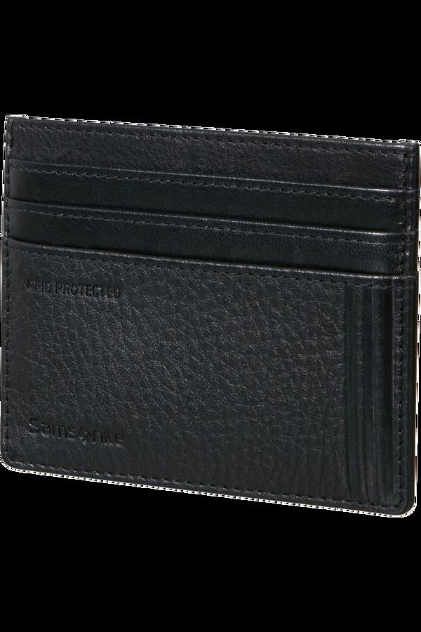 Samsonite Double Leather Slg 732 - 6CC H S  Sort