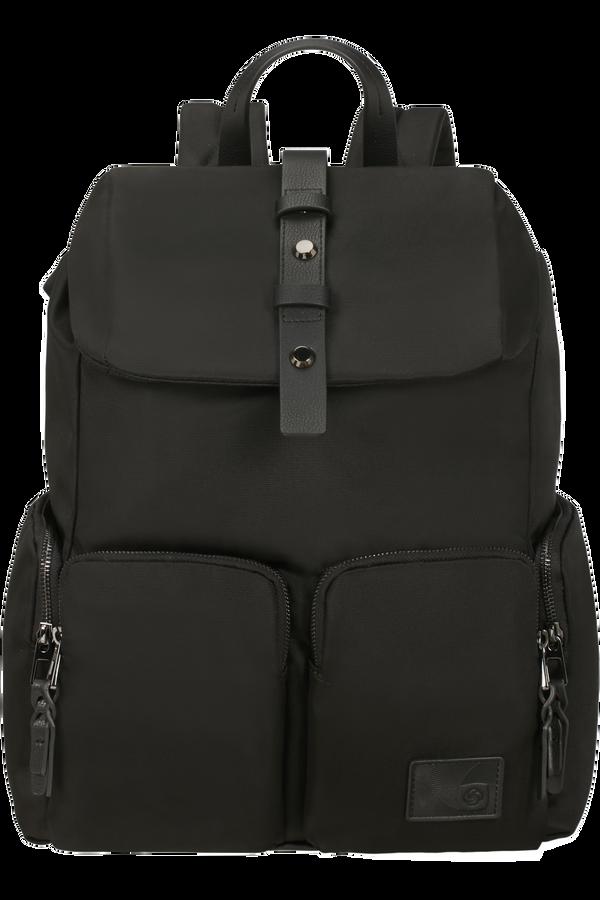 Samsonite Yourban Laptop Backpack + Flap  14.1inch Sort