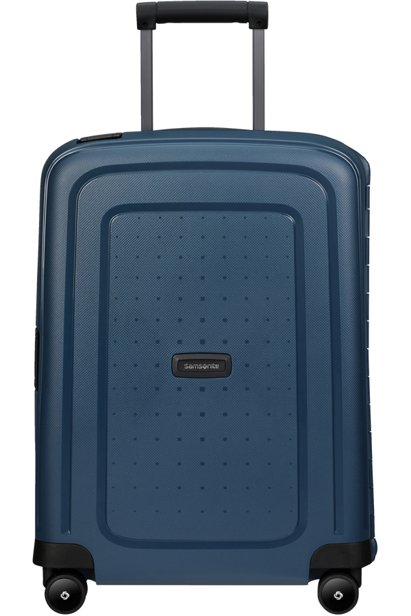 Samsonite S'cure Eco Spinner Post Consumer 55cm  Marineblå