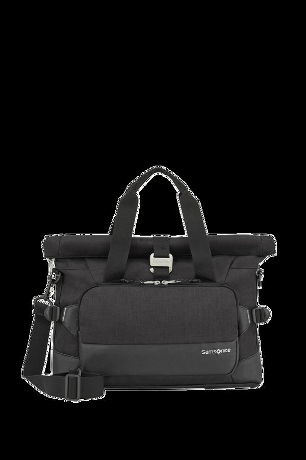 Samsonite Ziproll Laptop Shoulder Bag  Sort