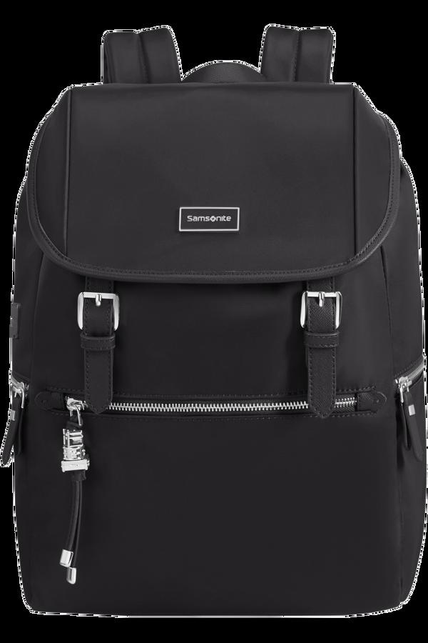 Samsonite Karissa Biz Backpack 14.1'+Flap W/Usb  Sort