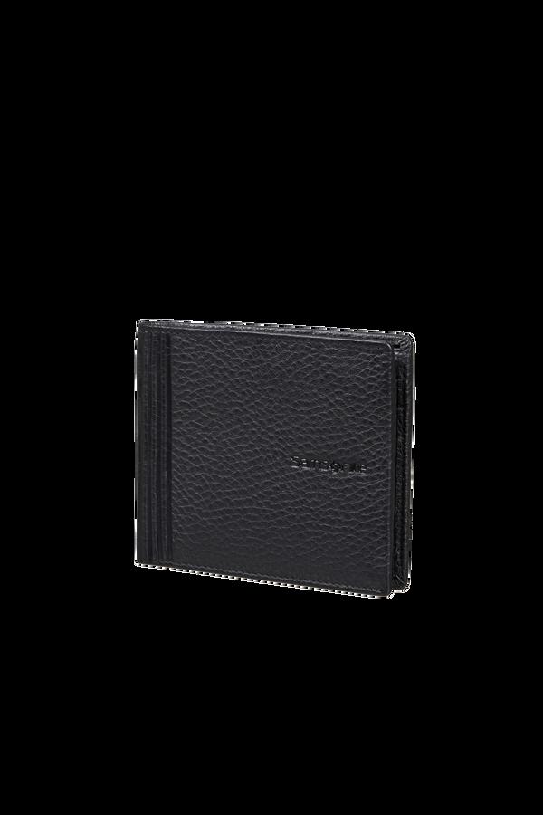Samsonite Double Leather Slg 001 - B S 6CC+2C  Sort