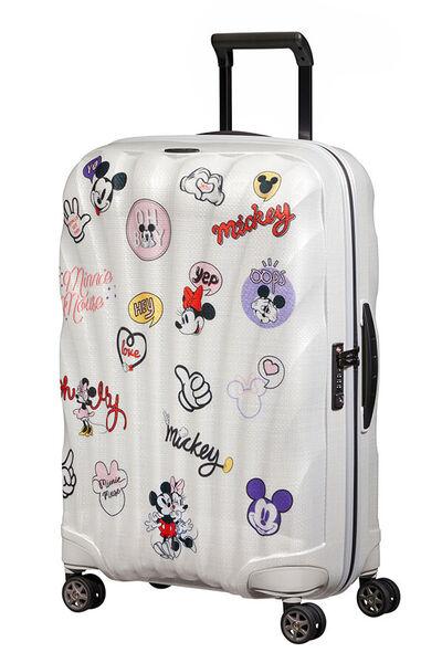 C-Lite Disney Kuffert med 4 hjul 69cm