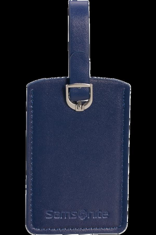 Samsonite Global Ta Rectangle Luggage Tag x2 Midnatsblå