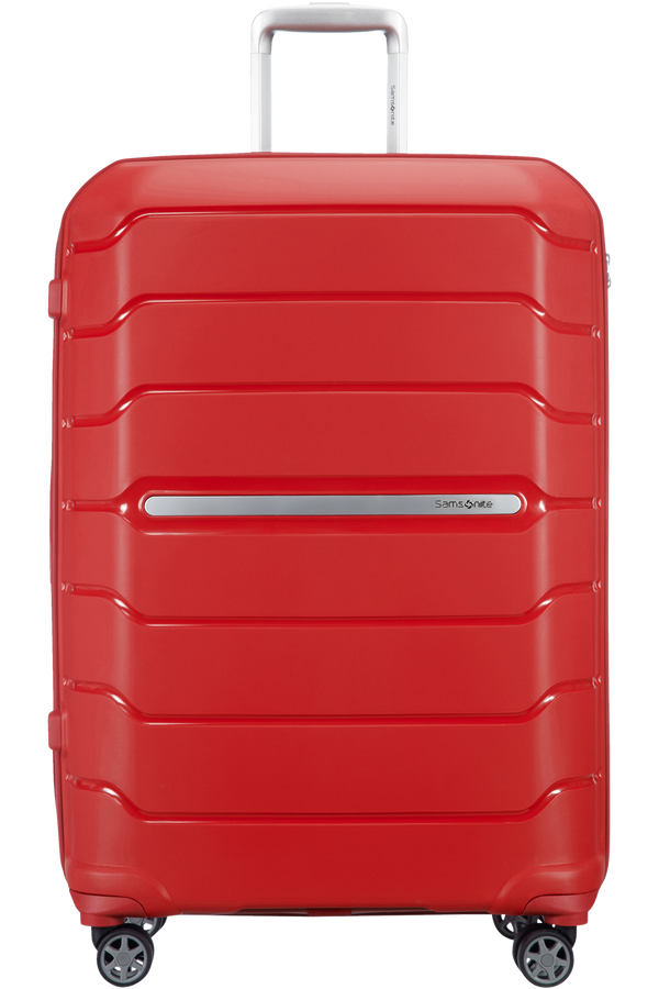 Samsonite Flux Spinner Expandable 75cm  Rød