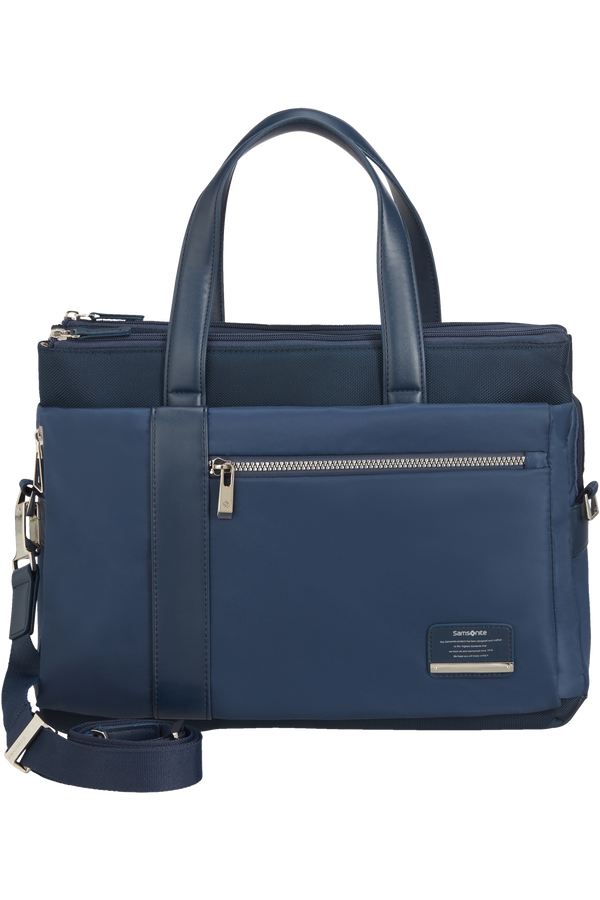 Samsonite Openroad Chic Org. Bailhandle  14.1inch Midnatsblå