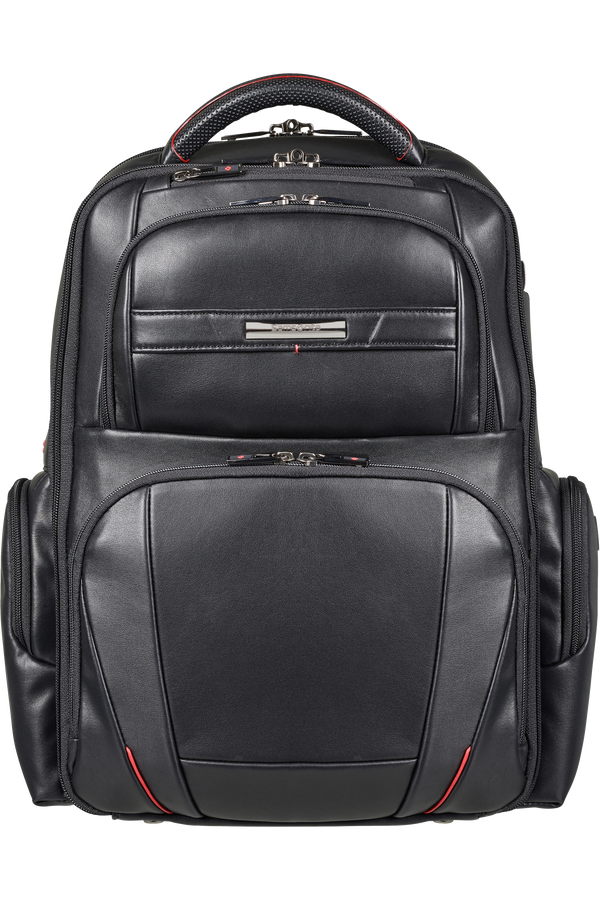 Samsonite Pro-Dlx 5 Lth Laptop Backpack  15.6inch Sort