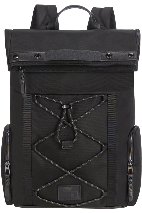 Samsonite Yourban Backpack + Flap  15.6inch Sort