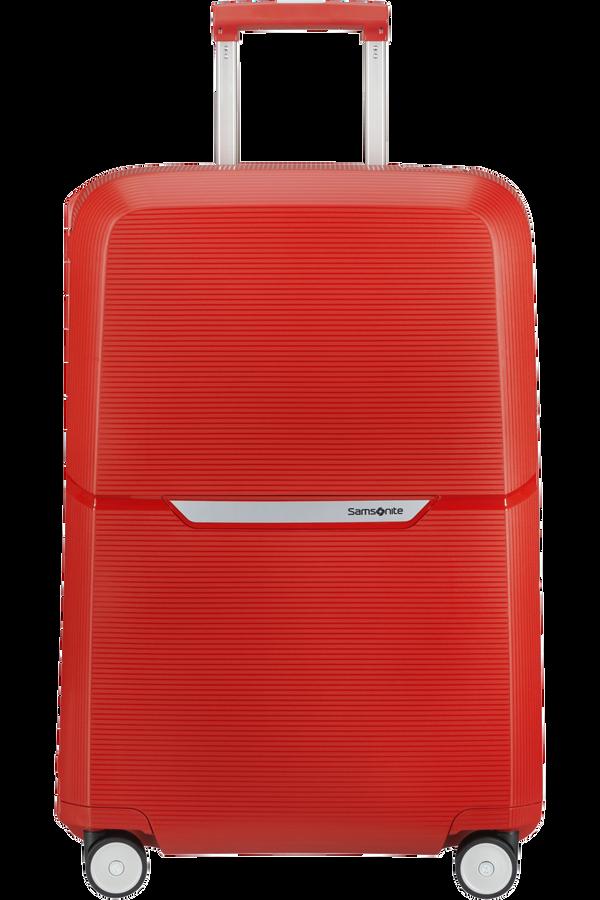 Samsonite Magnum Spinner 69cm  Klar rød