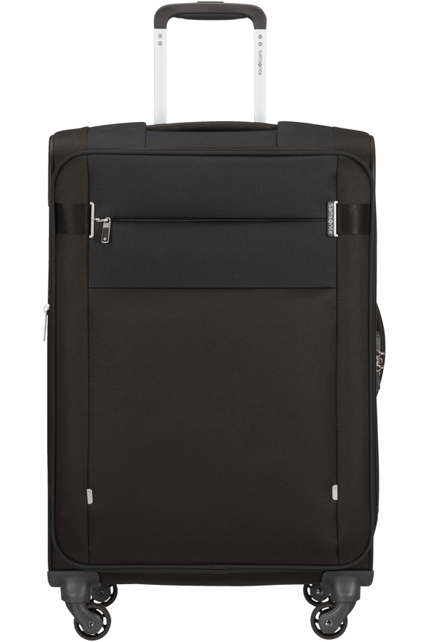 Samsonite Citybeat Spinner Expandable 66cm  Sort