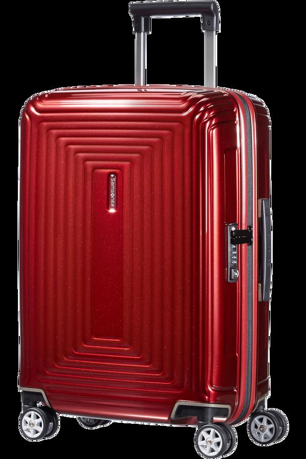 Samsonite Neopulse Spinner 55cm Metallisk rød