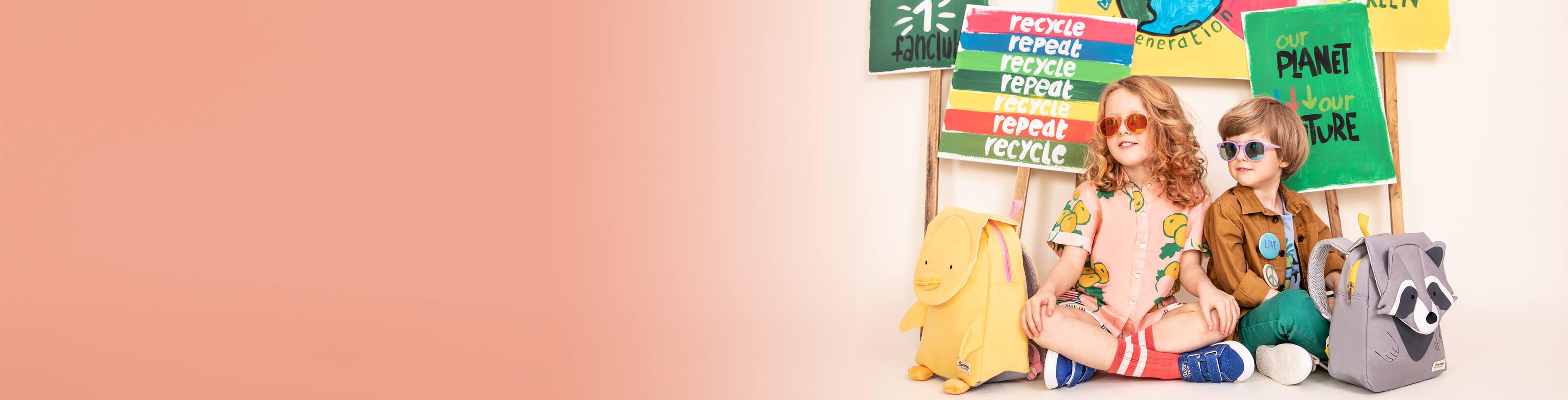 Miljøvenlige tasker til børn