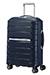 Flux Ekspanderbar kuffert med 4 hjul 55cm Marineblå