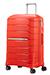 Flux Ekspanderbar kuffert med 4 hjul 68cm Tangerine Red